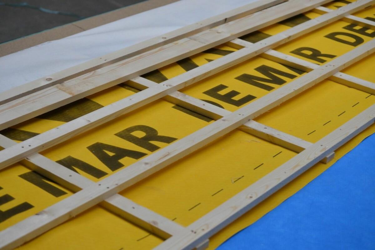 Folie De Mar houtskeletbouw
